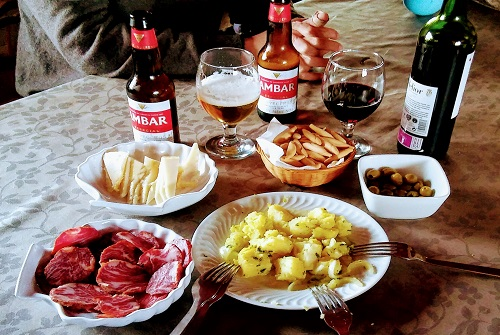 madrid spain food - tapas with history