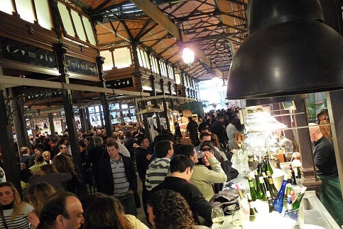 food and wine tours spain - tapas in old madrid